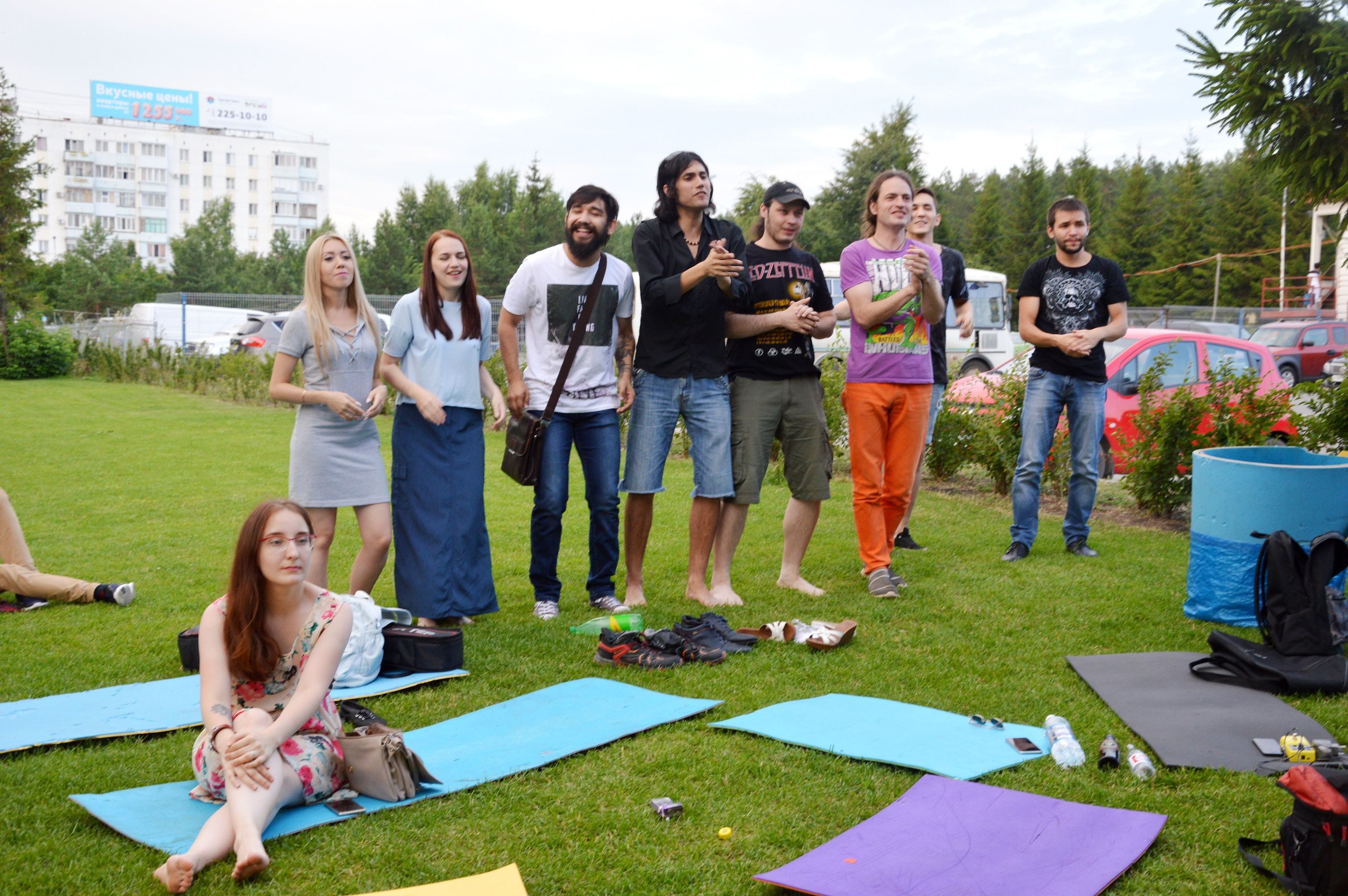 Другая музыка на газоне, Уфе, лайфстайл-центр Башкирия
